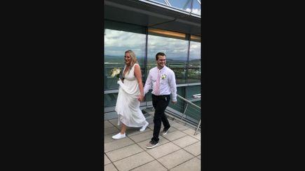 Wedding at OHSU