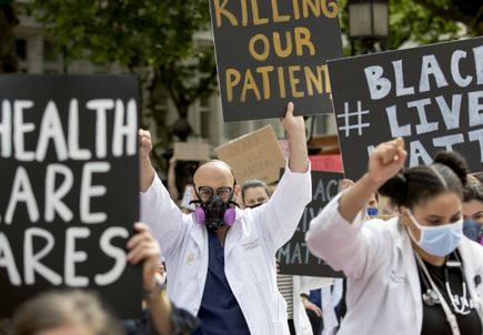 White Coats for Black Lives