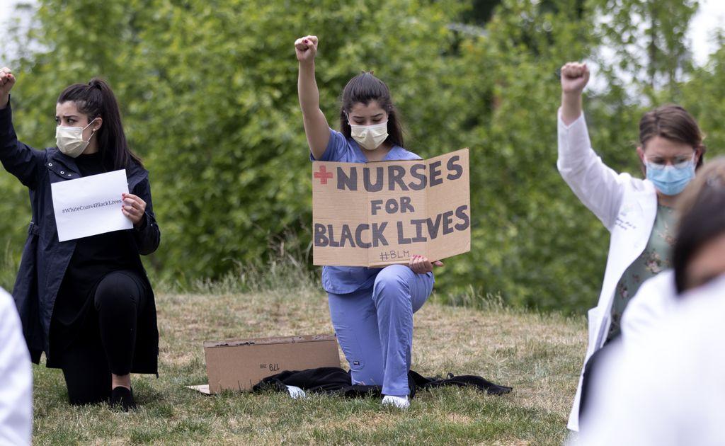 White Coats for Black Lives - June 5, 2020