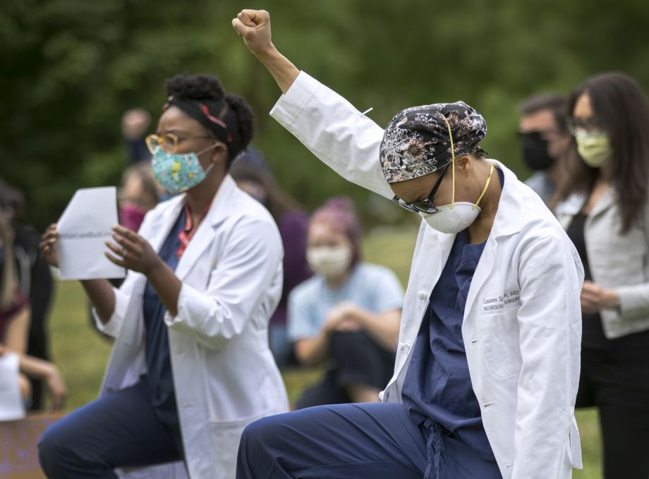 White Coats for Black Lives - June 5, 2020