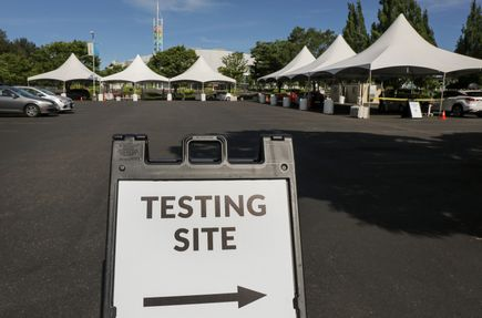 EXPO drive-up COVID-19 testing