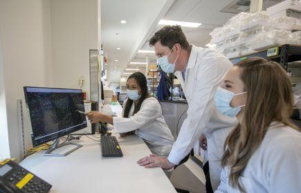 Ben Burwitz lab