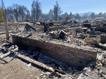 Phoenix, Oregon wildfire