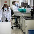 COVID lab relocation