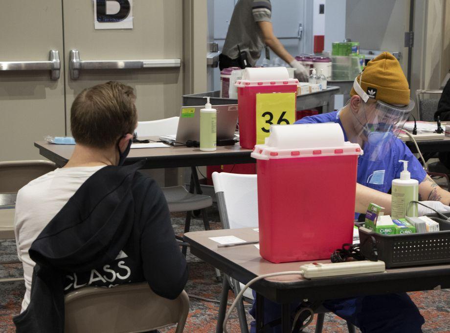 COVID-19 Vaccination at Oregon Convention Center