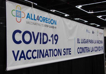 All4Oregon COVID-19 Vaccination Site