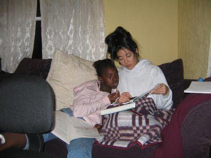 Curtisha and Milky 2005
