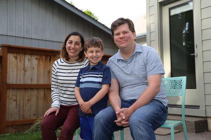 Lori Morgan family