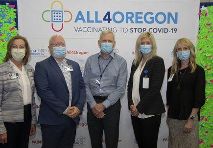All4Oregon COVID-19 Vaccination Site Leaders