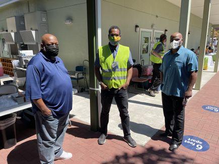 Muslim Community Center of Portland vaccine clinic