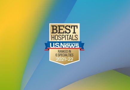 USNWR adult rankings badge