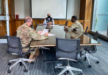 Oregon National Guard Pandemic Support