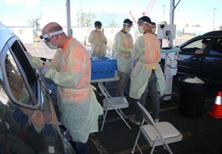 Expo Center COVID Testing