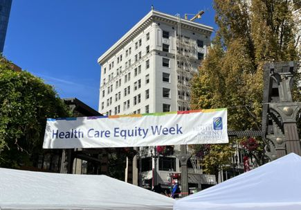 Students provide free health services to 300 Oregonians at community event