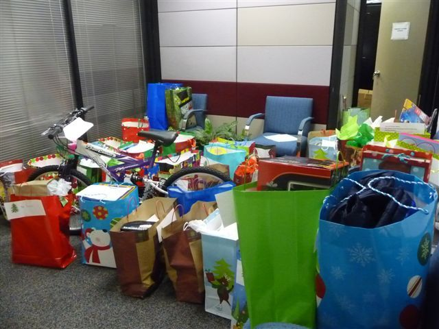 Hundreds of gifts were donated by Catawba Nuclear Station employees to benefit York County children this holiday season.