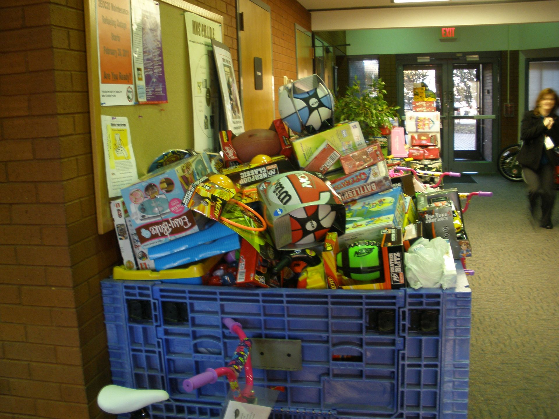 All gifts donated by McGuire Nuclear Station employees benefitted children in the Charlotte region.