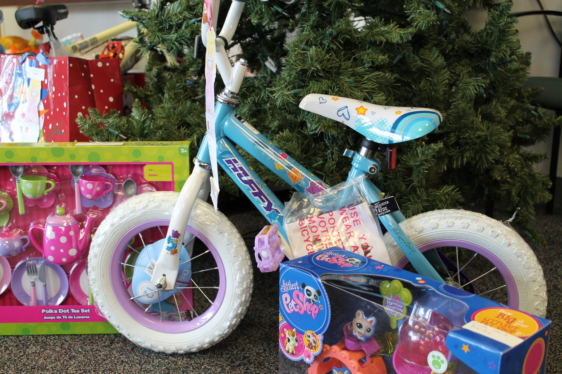 Oconee Nuclear Station employees collected enough toys through their toy drive to make more than 140 children's Christmas more special.