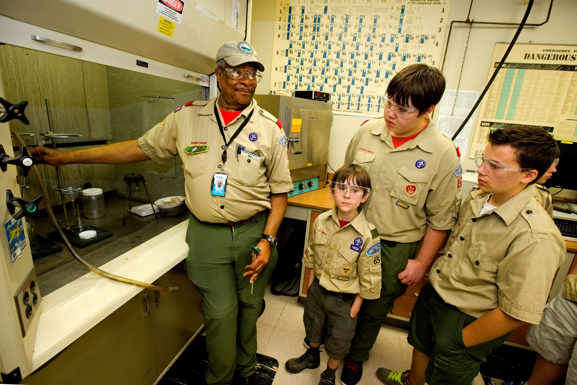 2013 Duke Energy Merit Badge Encampment at McGuire Nuclear Energy Station