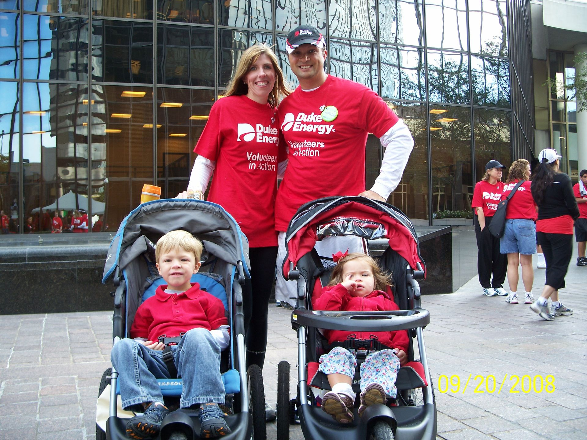 Pacetti Team -- 2008 Charlotte Heart Walk 1