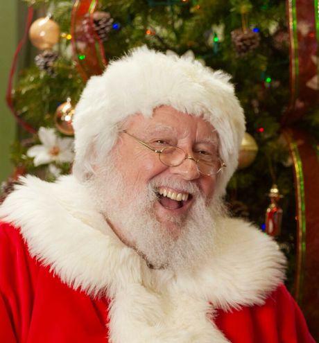 Nuclear worker, Len Engel, as Santa