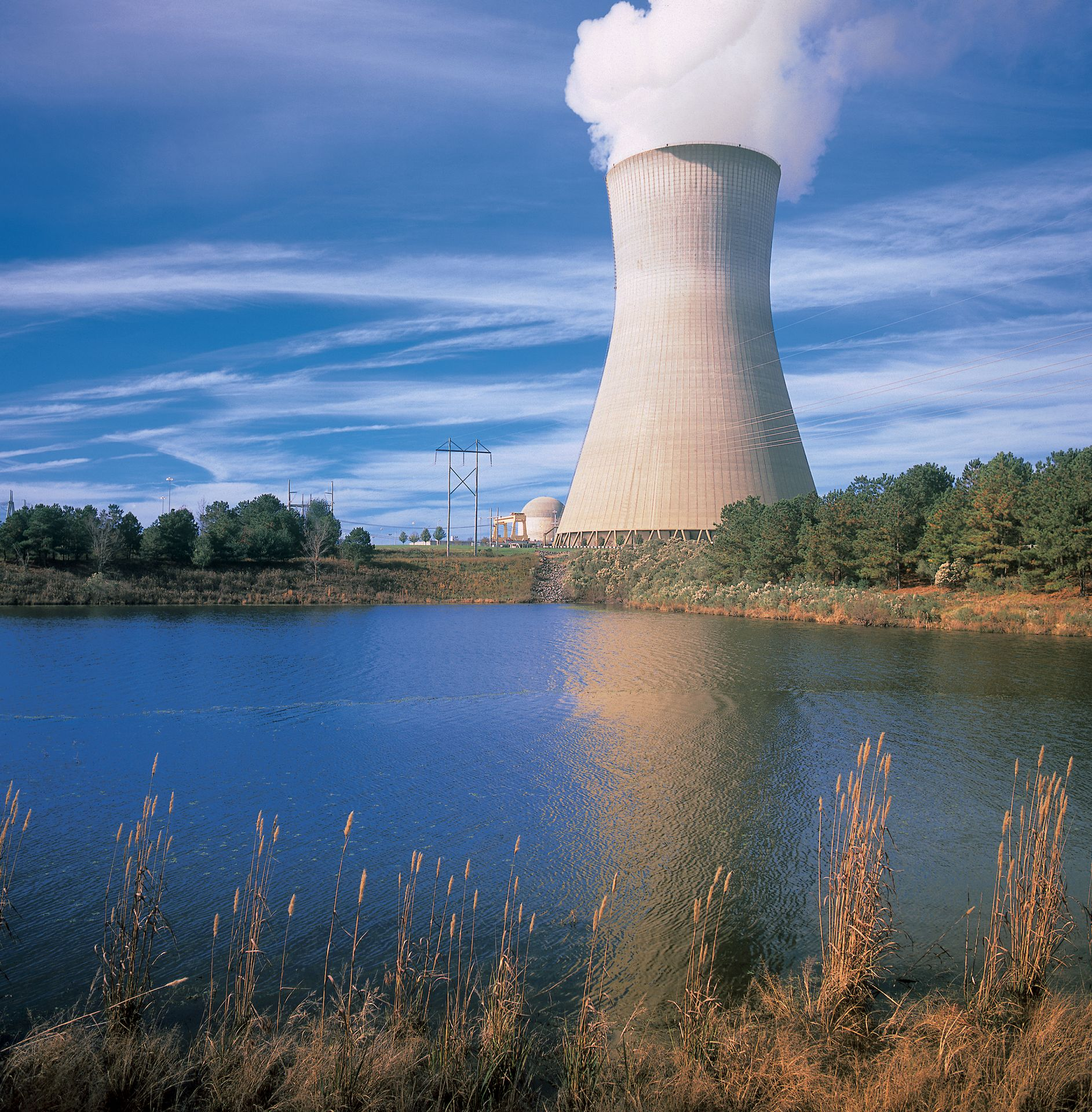 Harris Nuclear Plant Cooling Tower