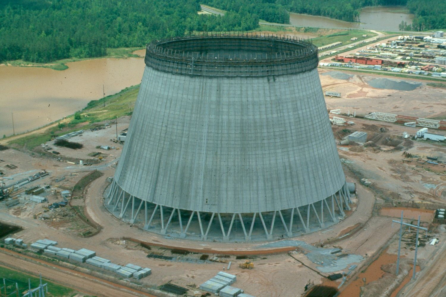 Harris Cooling Tower Construction
