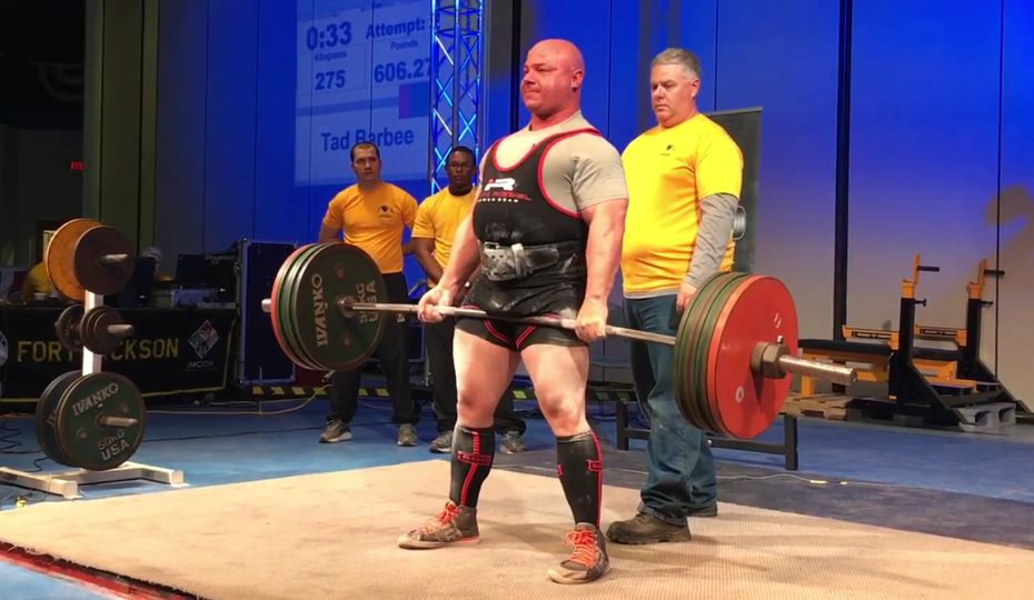 Nuclear security officer to represent USA at World Powerlifting Championships