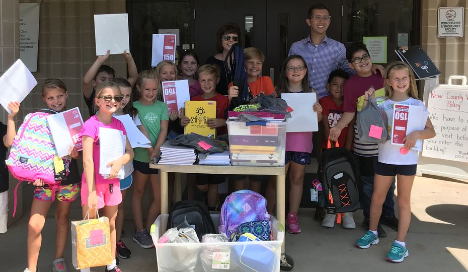 Supply drives help set students up for a successful year