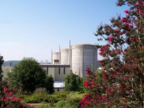 An exterior view of Oconee Nuclear Station