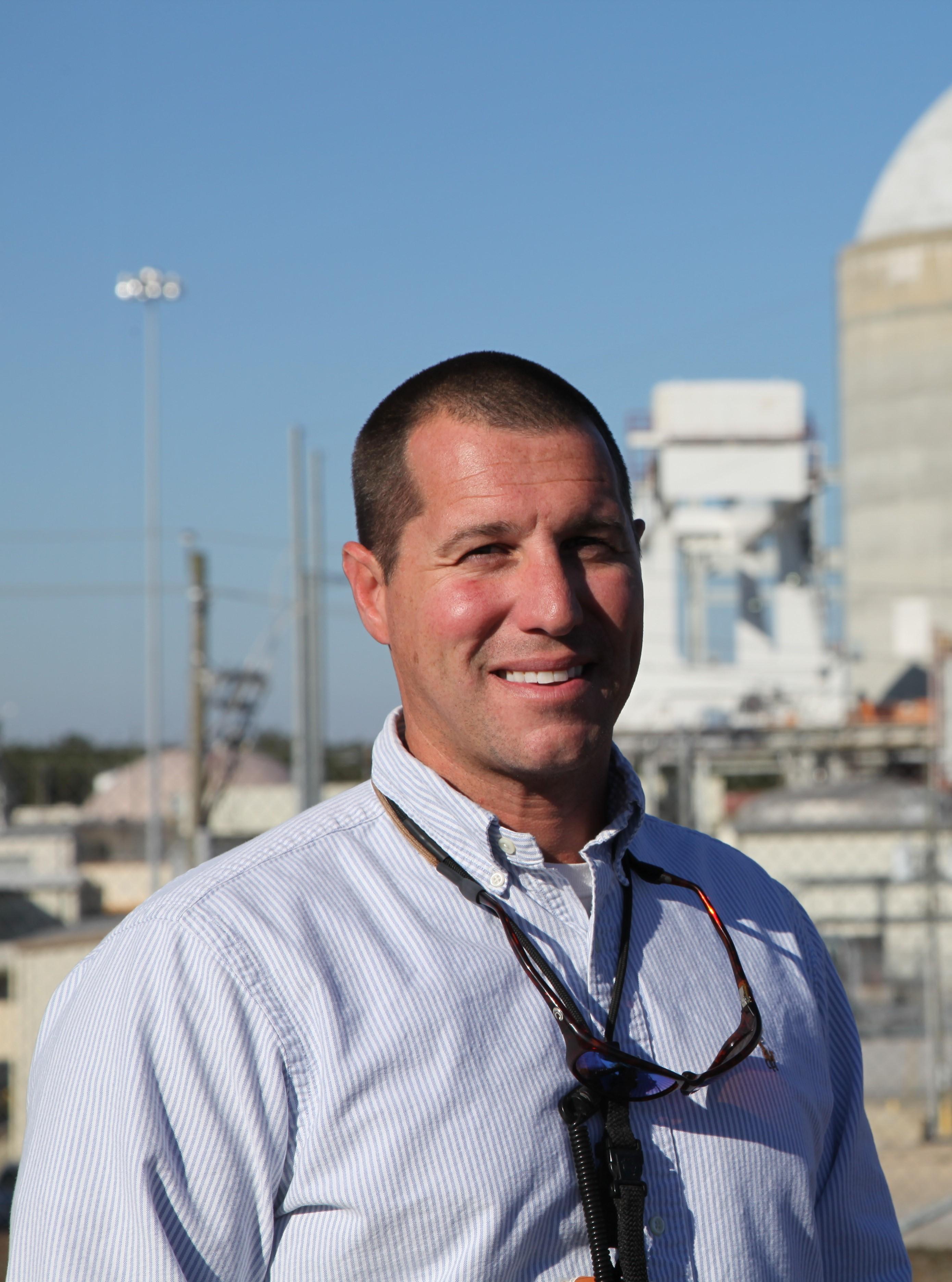 Will Hamilton, Robinson Nuclear Plant's environmental representative