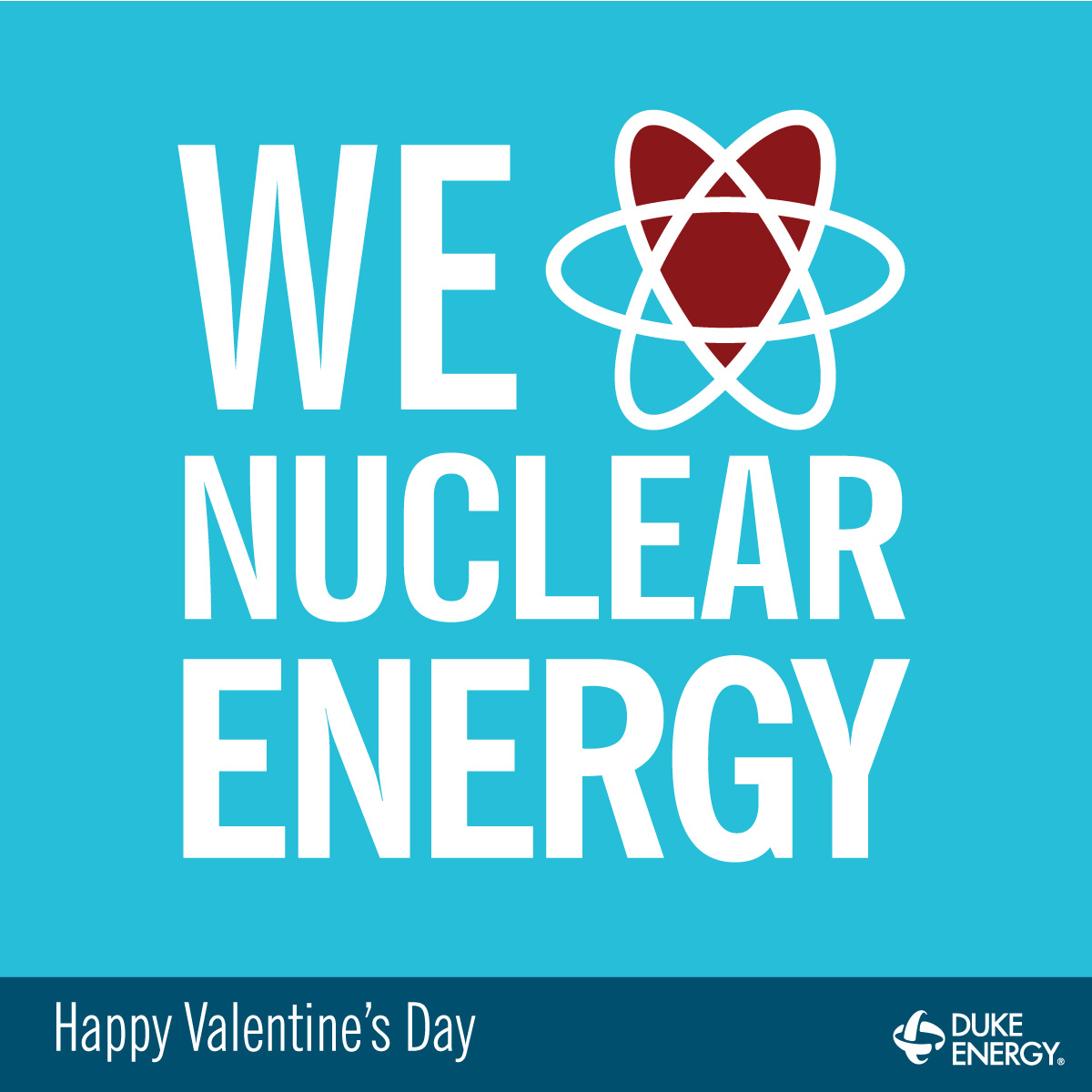 We love nuclear energy