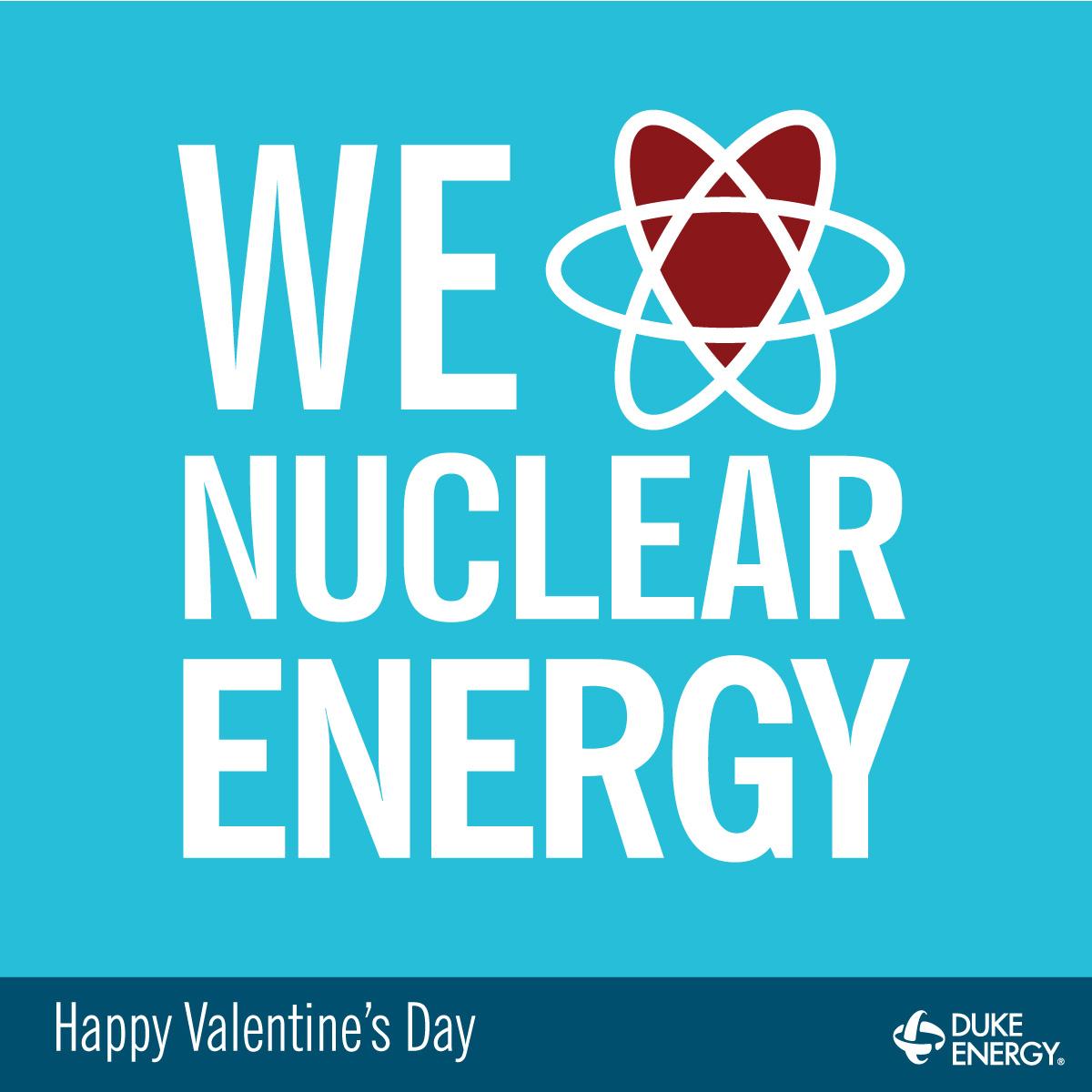 We love nuclear energy