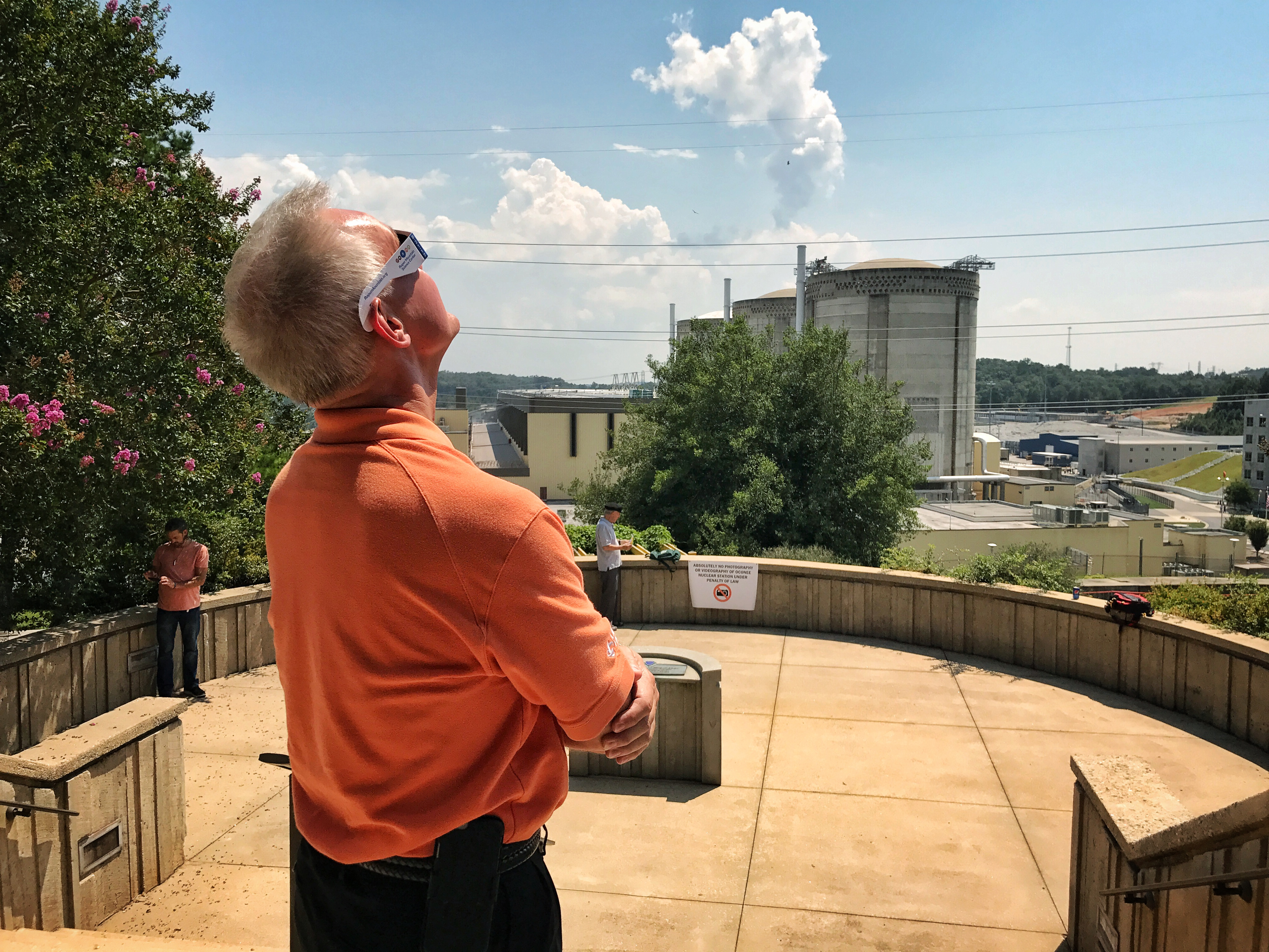 Solar Eclipse at Oconee Nuclear Station
