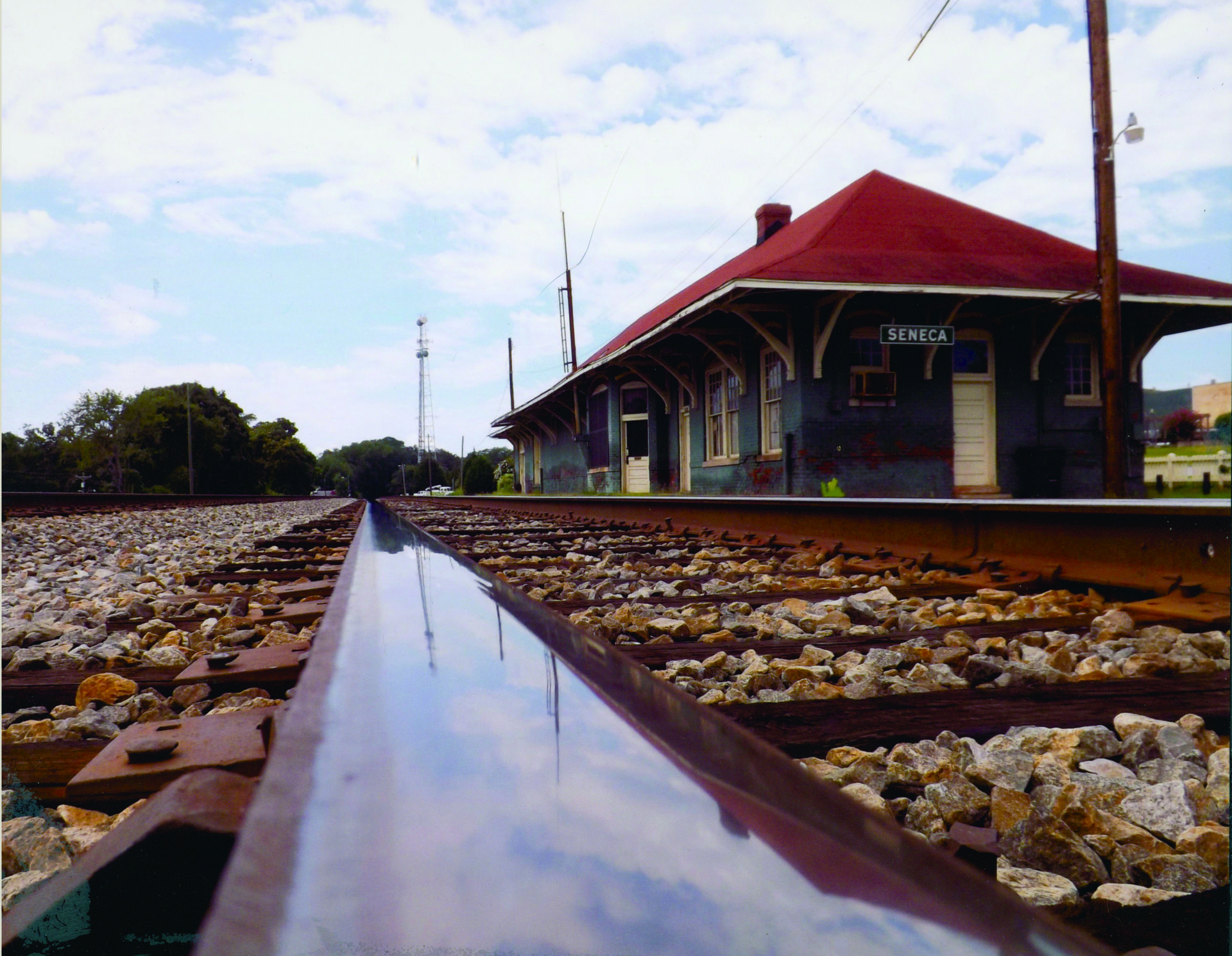 "5th Place: ""Seneca Train Depot"" by Kindel Owens"