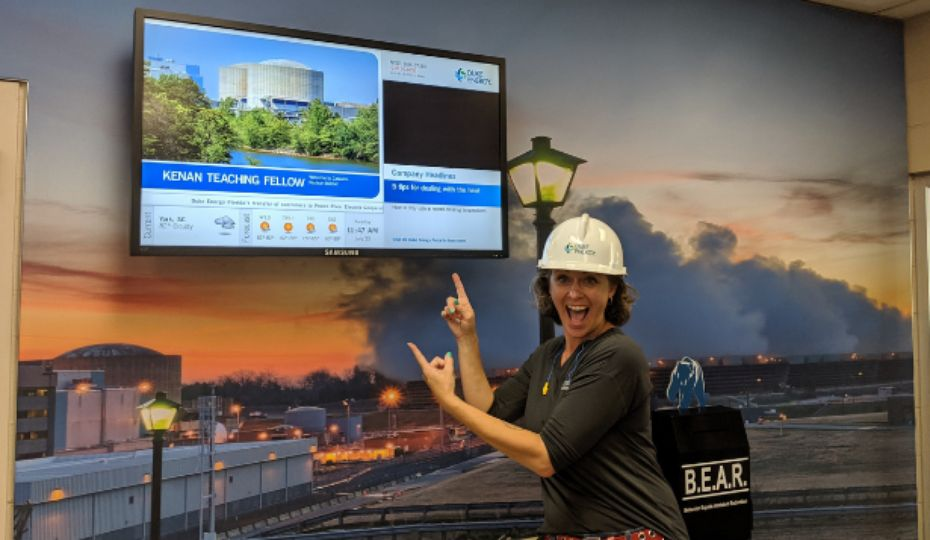 Nuclear plant provides hands-on learning for teachers