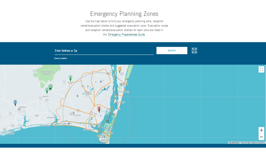 Do you need to know your emergency planning zone?