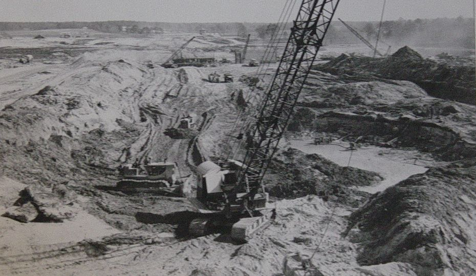 Lake Robinson construction