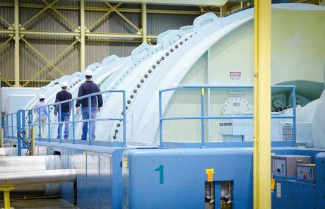 Turbine deck - MNS