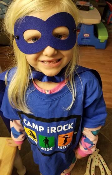 Camp iRock - superhero