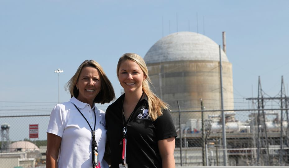 Nuclear is in the blood for this mother-daughter team