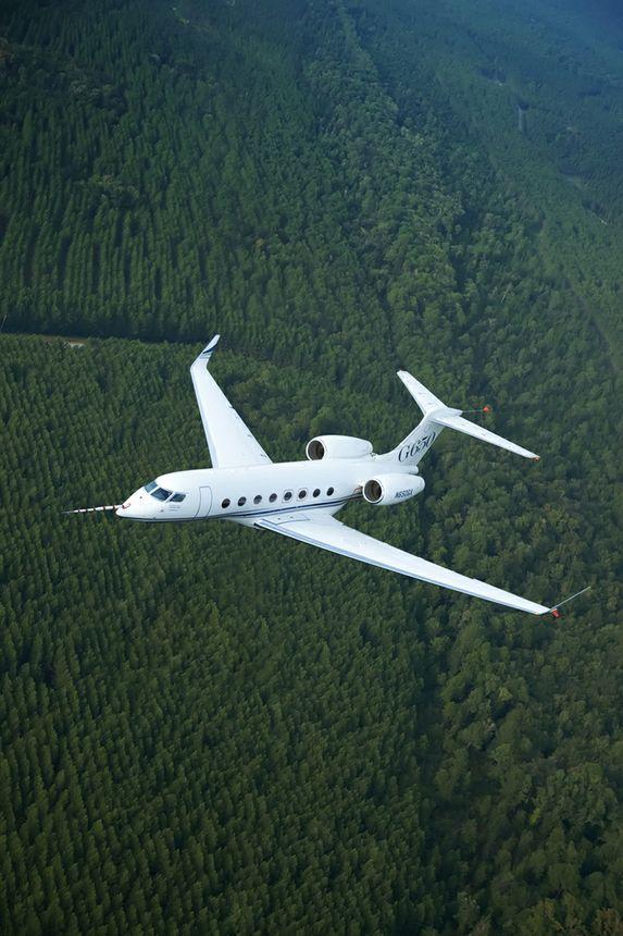 The Gulfstream 650