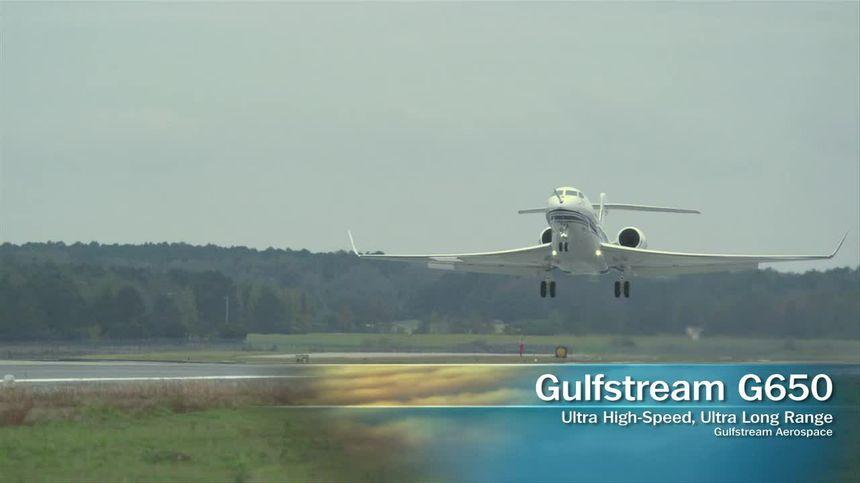 The Gulfstream 650 Flight Test