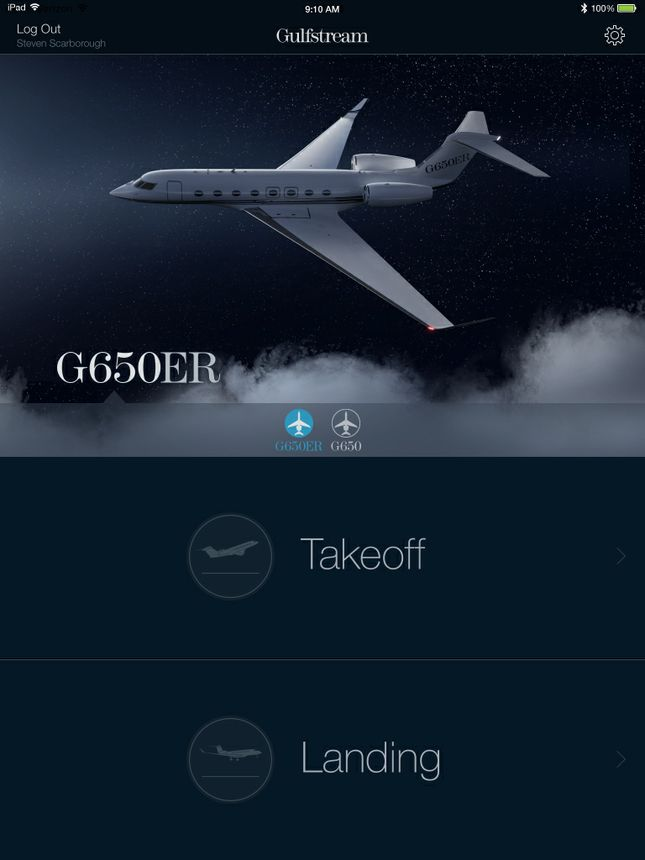 Gulfstream Performance App For G650ER/G650