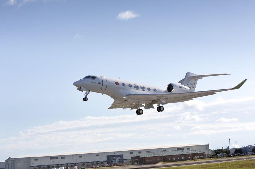 Third Gulfstream G600 Flies