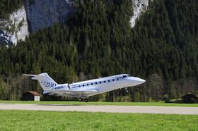 The Gulfstream G280 Demonstrates High-Performance Capabilities Near Saanen-Gstaad, Switzerland