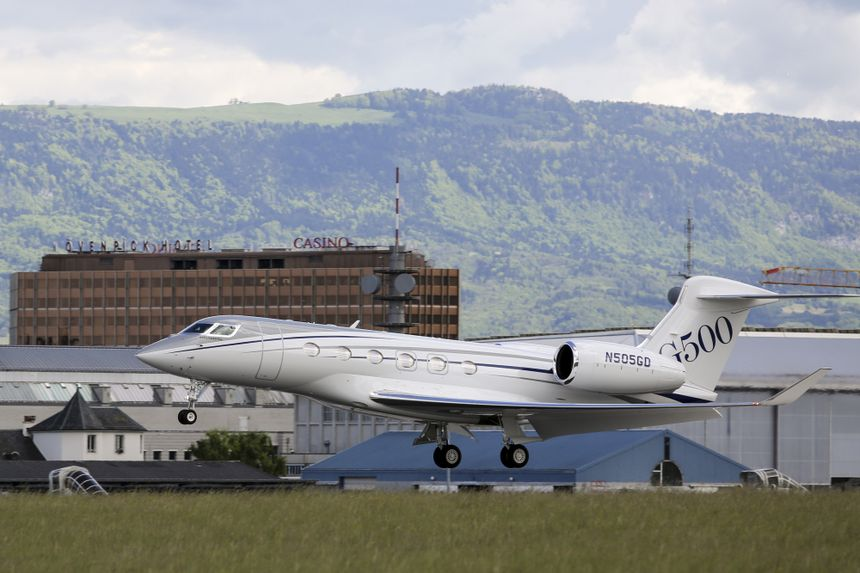 The Gulfstream G500 Arrives at EBACE