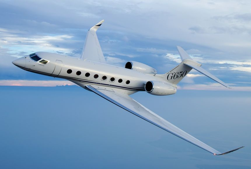 Gulfstream Marks Five-Year Anniversary of G650 Type Certification