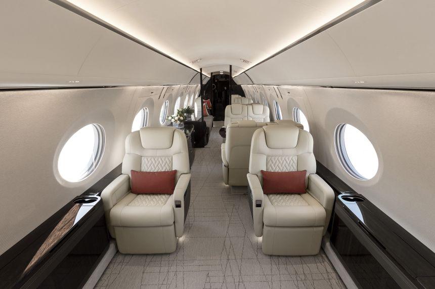 Gulfstream G600 NBAA-BACE 2017 Debut Interior
