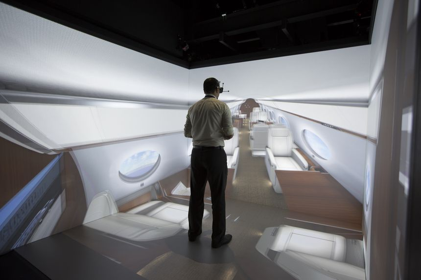 Gulfstream Enhances Design Process with Immersive Reality