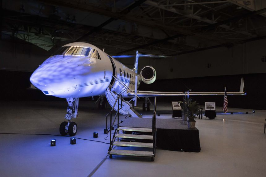 GULFSTREAM DELIVERS FINAL G450